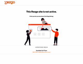 australiansurftour.rezgo.com screenshot
