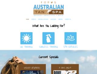 australiantan.com screenshot