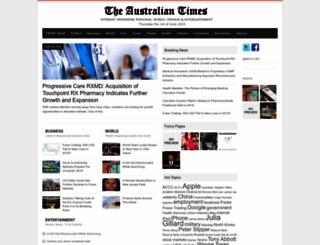 australiantimes.com.au screenshot