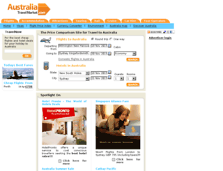 australiatravelmarket.com screenshot