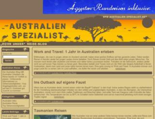 australien-spezialist.net screenshot