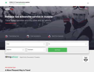 austria-taxi.at screenshot