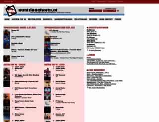 austriancharts.at screenshot