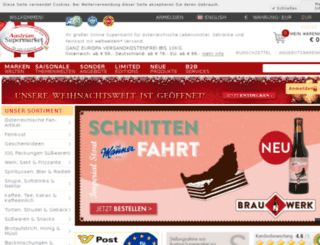 austriangrocery.com screenshot