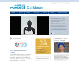 auth-caribbean.unwomen.org screenshot