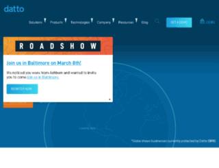 auth.dattobackup.com screenshot
