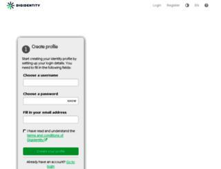 auth.digidentity.eu screenshot