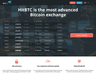 auth.hitbtc.com screenshot