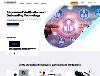 authbridge.com screenshot
