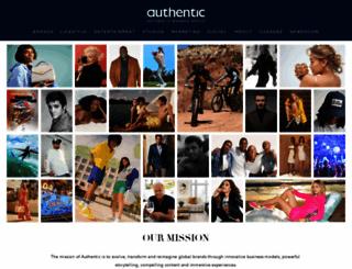 authenticbrandsgroup.com screenshot