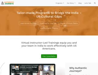 authenticjourneys.info screenshot