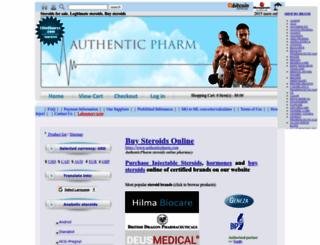 authenticpharm.com screenshot