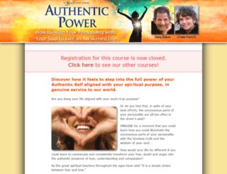 authenticpowercourse.com screenshot