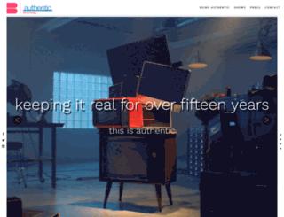 authentictv.com screenshot