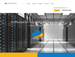 authenticwebsitehosting.com screenshot