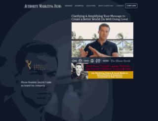 authoritymarketingfilms.com screenshot
