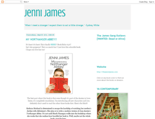 authorjennijames.blogspot.com screenshot