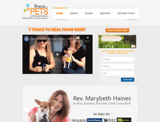 authormarybethhaines.com screenshot
