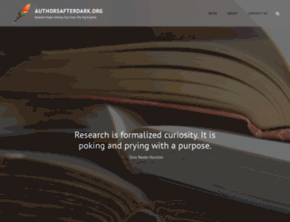 authorsafterdark.org screenshot
