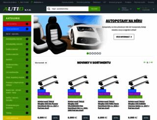 autio.cz screenshot