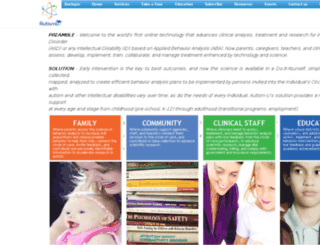 autism-u.com screenshot
