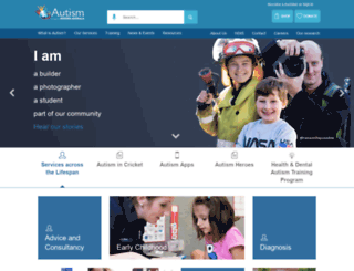 autism.org.au screenshot