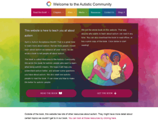 autismacceptancemonth.com screenshot