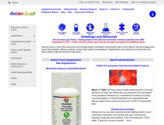 autismcoach.com screenshot