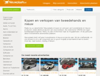 auto-accessoires.nieuwplaats.nl screenshot