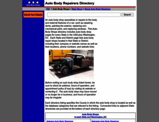 auto-body-shops.regionaldirectory.us screenshot