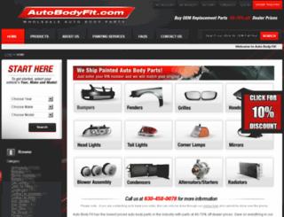 auto-bodyfit.com screenshot