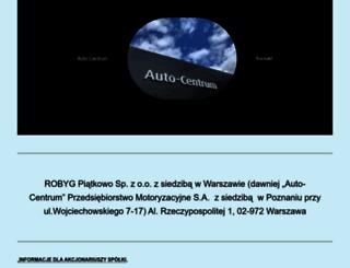 auto-centrum.com.pl screenshot