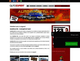 auto-direct-ml.autoexpert.ca screenshot