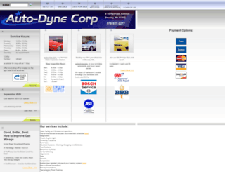auto-dyne.com screenshot