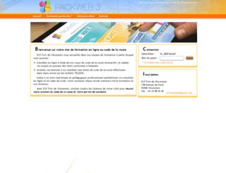 auto-ecole-fort-vincennes.packweb2.com screenshot