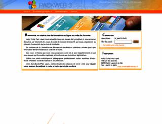 auto-ecole-parc-layet--saint-laurent-du-var.packweb2.com screenshot