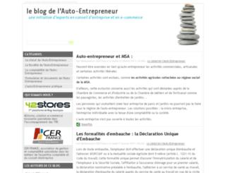 auto-entrepreneur.42stores.com screenshot