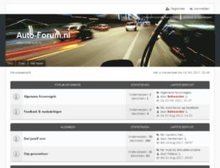 auto-forum.nl screenshot