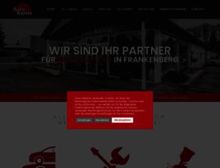auto-kunze.de screenshot