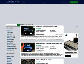 auto-lanka.com screenshot
