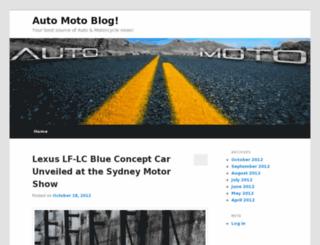 auto-moto-blog.com screenshot