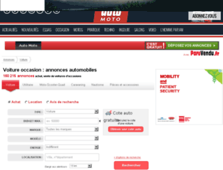 auto-moto.paruvendu.fr screenshot