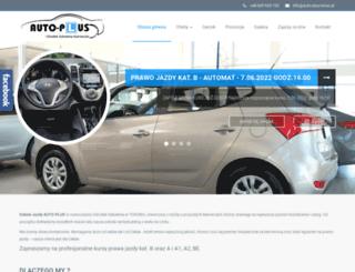 auto-plus-torun.pl screenshot