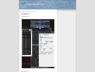 auto-radiox.blogspot.com screenshot