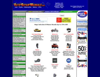 auto-repair-manuals.com screenshot