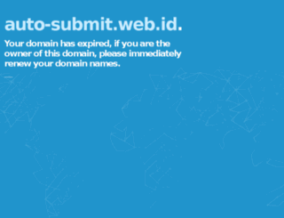 auto-submit.web.id screenshot