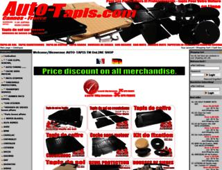 auto-tapis.com screenshot