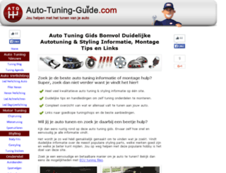 auto-tuning-guide.com screenshot