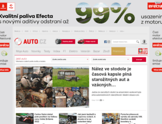 auto.cz screenshot