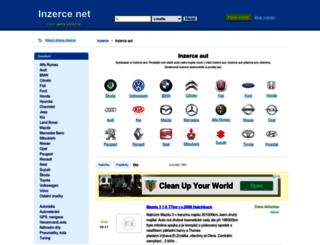 auto.inzerce.net screenshot